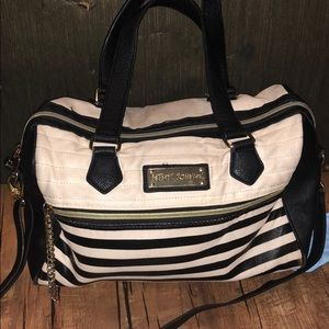Betsy Johnson purse with shoulder strap
